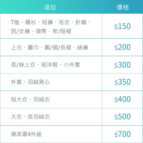價目表_20190116